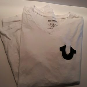 True Religion large tee shirt